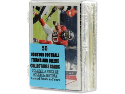 Houston Texans 50 Card Pack-Assorted