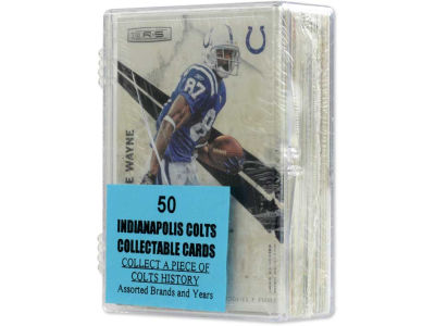 Indianapolis Colts 50 Card Pack-Assorted