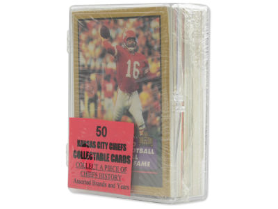 Kansas City Chiefs 50 Card Pack-Assorted