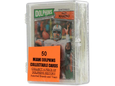 Miami Dolphins 50 Card Pack-Assorted