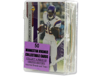 Minnesota Vikings 50 Card Pack-Assorted