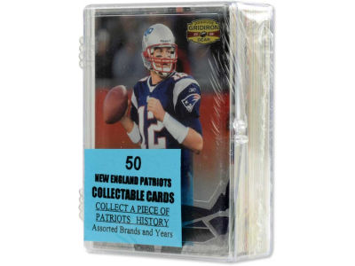 New England Patriots 50 Card Pack-Assorted