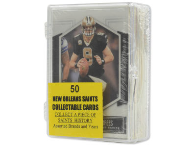 New Orleans Saints 50 Card Pack-Assorted