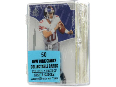 New York Giants 50 Card Pack-Assorted