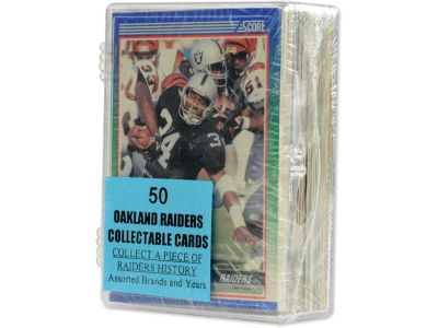 Oakland Raiders 50 Card Pack-Assorted