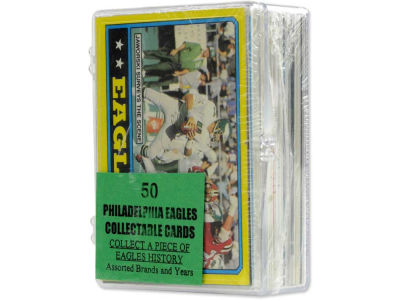 Philadelphia Eagles 50 Card Pack-Assorted