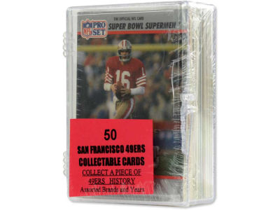San Francisco 49ers 50 Card Pack-Assorted