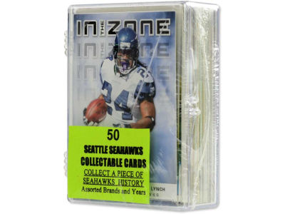 Seattle Seahawks 50 Card Pack-Assorted