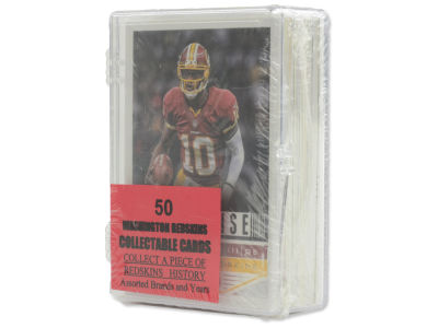 Washington Redskins 50 Card Pack-Assorted