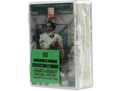 Jacksonville Jaguars 50 Card Pack-Assorted