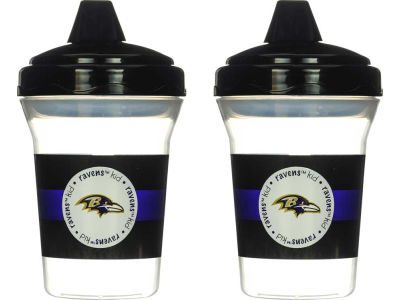Baltimore Ravens 2-pack Sippy Cup Set