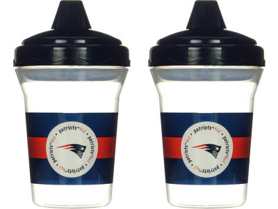 New England Patriots 2-pack Sippy Cup Set
