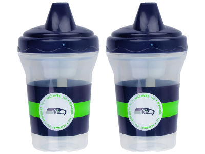Seattle Seahawks 2-pack Sippy Cup Set