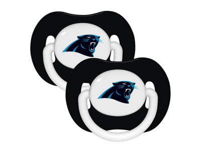 Carolina Panthers 2-pack Pacifier Set