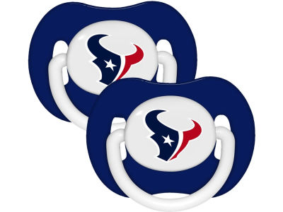 Houston Texans 2-pack Pacifier Set