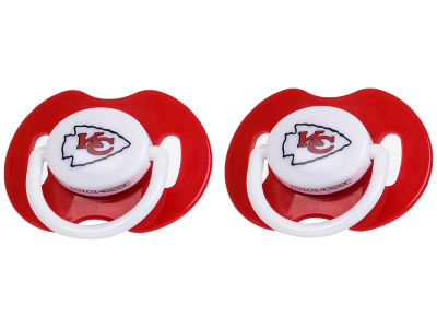 Kansas City Chiefs 2-pack Pacifier Set