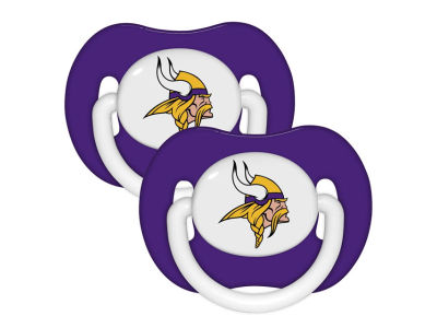 Minnesota Vikings 2-pack Pacifier Set