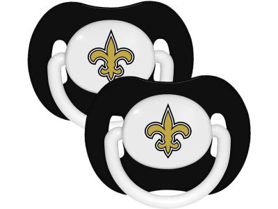 New Orleans Saints 2-pack Pacifier Set
