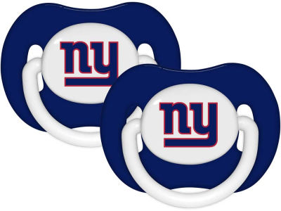 New York Giants 2-pack Pacifier Set
