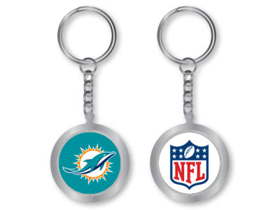 Miami Dolphins Spinning Keychain