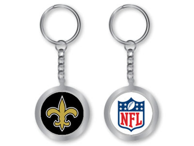 New Orleans Saints Spinning Keychain