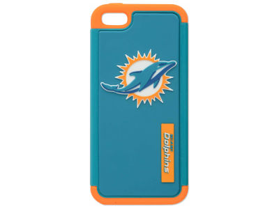 Miami Dolphins iPhone SE Dual Hybrid Case