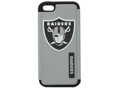 Oakland Raiders iPhone SE Dual Hybrid Case