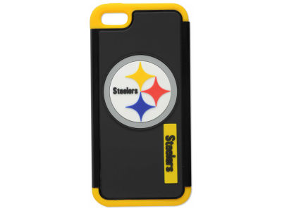 Pittsburgh Steelers iPhone SE Dual Hybrid Case