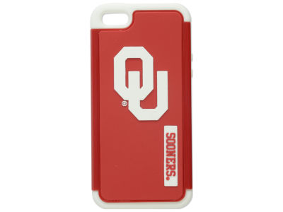 Oklahoma Sooners iPhone SE Dual Hybrid Case