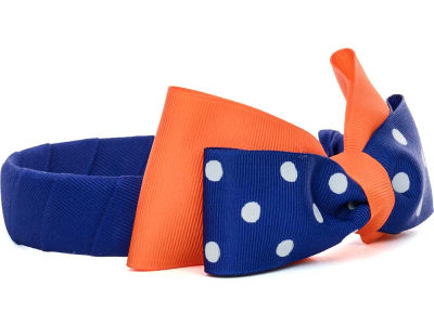 Florida Gators Headband with Dot Bow