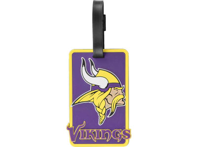 Minnesota Vikings Soft Bag Tag