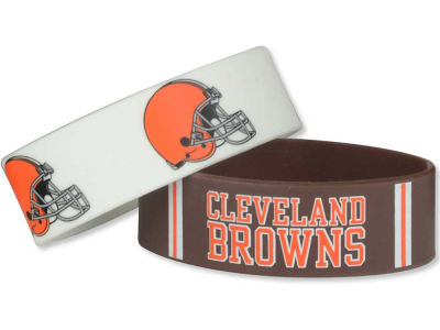 Cleveland Browns 2-pack Wide Bracelet