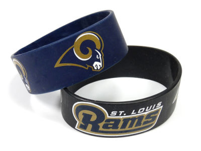 St. Louis Rams 2-pack Wide Bracelet