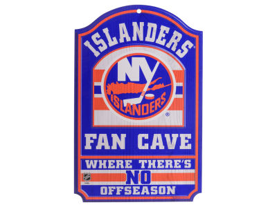 New York Islanders 11x17 Wood Sign