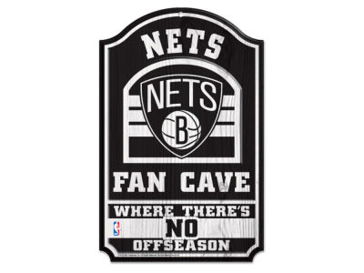 Brooklyn Nets 11x17 Wood Sign