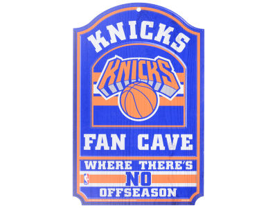 New York Knicks 11x17 Wood Sign