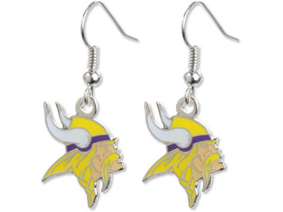 Minnesota Vikings Logo Earrings