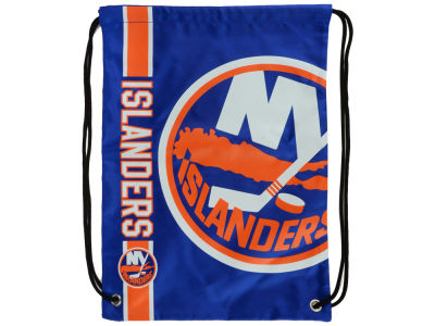 New York Islanders Forever Collectibles Big Logo Drawstring Backpack