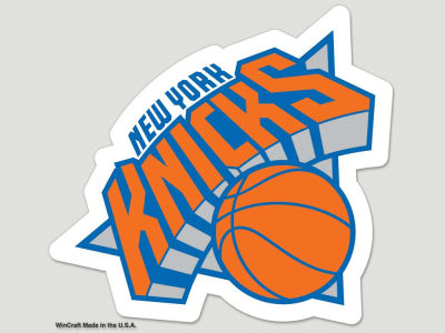 New York Knicks Die Cut Color Decal 8in X 8in