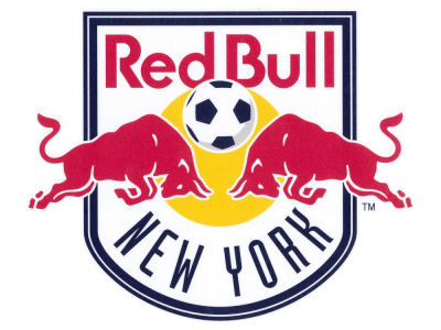 New York Red Bulls Die Cut Color Decal 8in X 8in