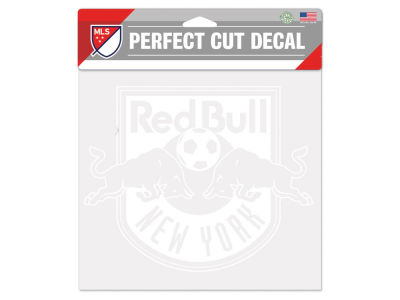 "New York Red Bulls Die Cut Decal 8""x8"""