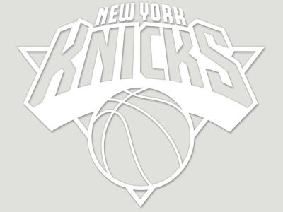 "New York Knicks Die Cut Decal 8""x8"""