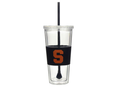 Syracuse Orange 22oz. Tumbler with Straw
