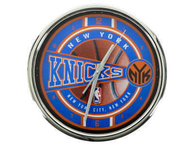 New York Knicks Chrome Clock