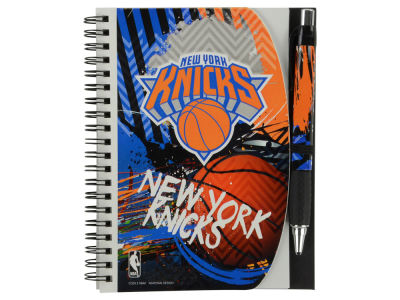 New York Knicks 5x7 Spiral Notebook And Pen Set