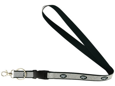 New York Jets Sparkle Lanyard-Aminco