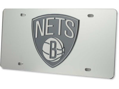Brooklyn Nets Acrylic Laser Tag