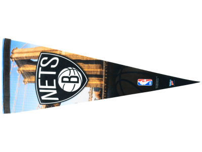 Brooklyn Nets 12x30in Pennant