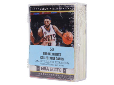 Brooklyn Nets 50 Card Pack-Assorted