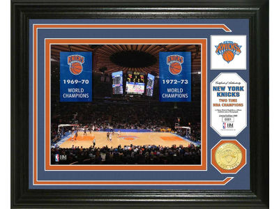 New York Knicks Photo Mint Coin-Bronze